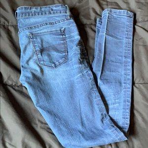 Dark Blue Decree Skinny Jeans